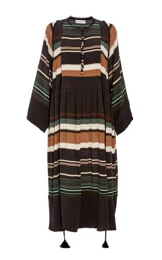 Medium apiece apart brown sierra long dress