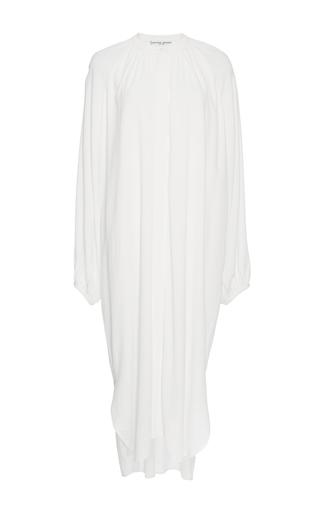 Medium apiece apart off white cream shirred georgia dress