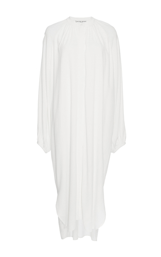 Medium apiece apart off white cream shirred georgia dress