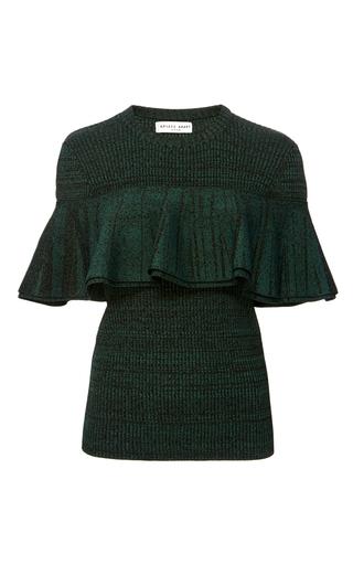 Medium apiece apart dark green alamosa short sleeve top