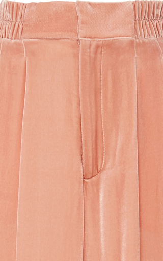 Velvet Cropped Taiyana Pant by APIECE APART Now Available on Moda Operandi