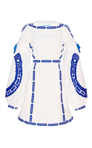 Medium yuliya magdych white lucky dress