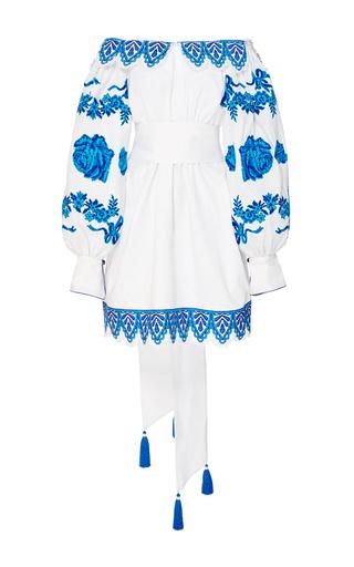 Medium yuliya magdych white gzel dress
