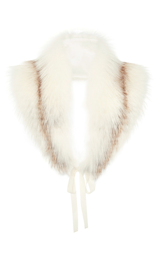 Fox Fur Scarf by BROCK COLLECTION Now Available on Moda Operandi