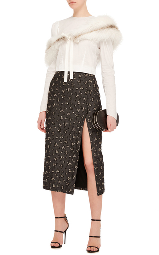 Wrap Jacquard Skirt by BROCK COLLECTION Now Available on Moda Operandi