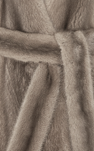 Mink Fur Jacket by BROCK COLLECTION Now Available on Moda Operandi