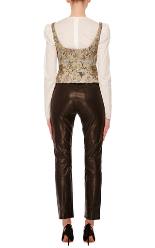 Long Sleeve Blouse by BROCK COLLECTION Now Available on Moda Operandi