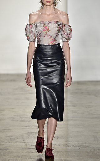 Boie Off The Shoulder Blouse by BROCK COLLECTION Now Available on Moda Operandi