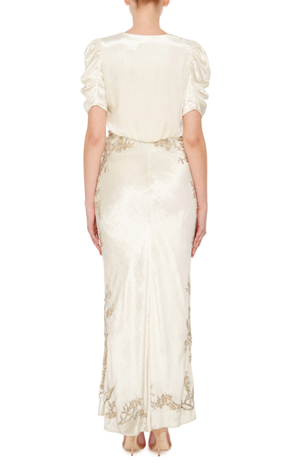 Daryl Velvet Dress by BROCK COLLECTION Now Available on Moda Operandi