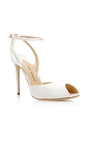 Europeaus Satin Pump by PAUL ANDREW Now Available on Moda Operandi