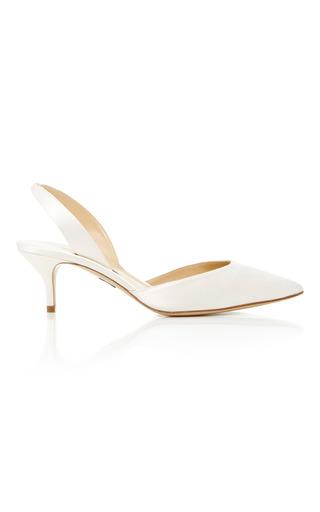 Medium paul andrew off white rhea slingback heels