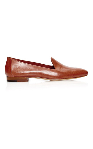 Medium mansur gavriel tan venetian loafer