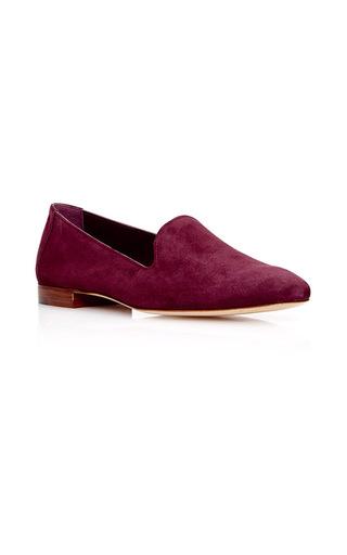 Medium mansur gavriel burgundy venetian loafer  3