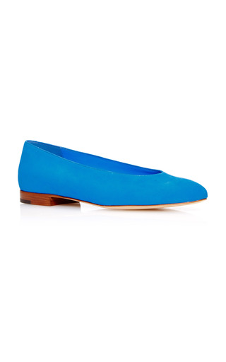 Medium mansur gavriel blue ballerina