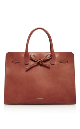 Medium mansur gavriel brown large sun bag