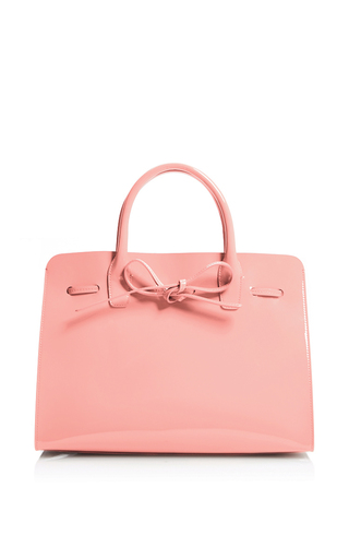 Medium mansur gavriel pink sun bag  3