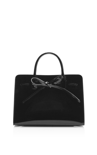 Medium mansur gavriel black mini sun bag