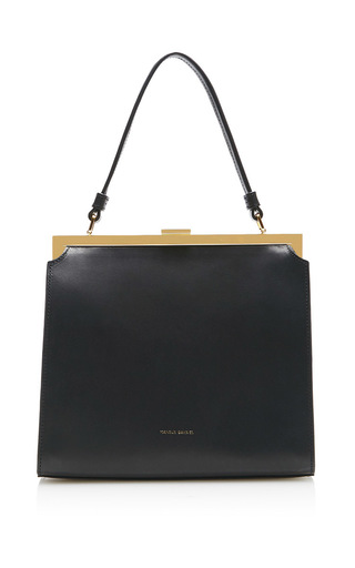 Medium mansur gavriel black elegant bag