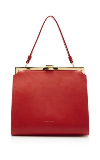 Medium mansur gavriel red elegant bag  2