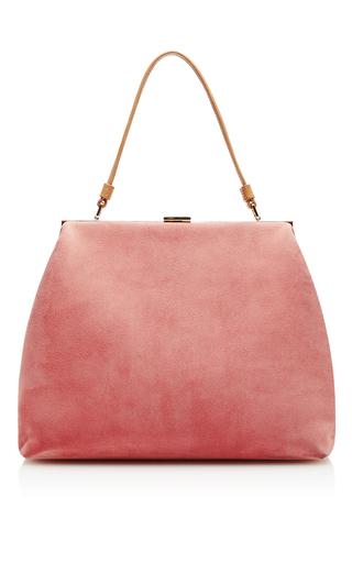 Medium mansur gavriel pink elegant bag  4