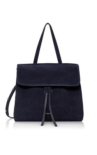 Medium mansur gavriel navy mini lady bag  2