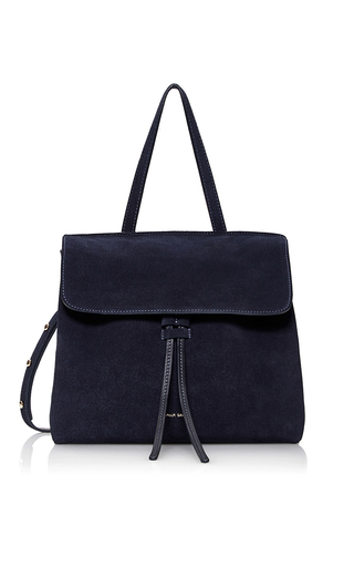 Medium mansur gavriel navy mini lady bag  2