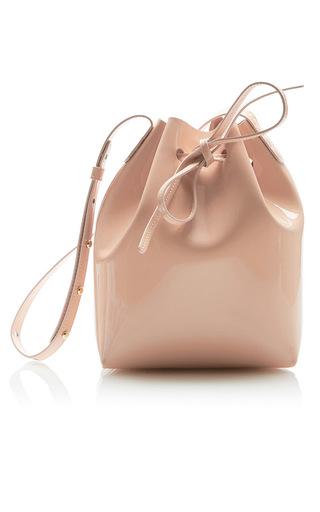 Medium mansur gavriel pink mini bucket bag  4