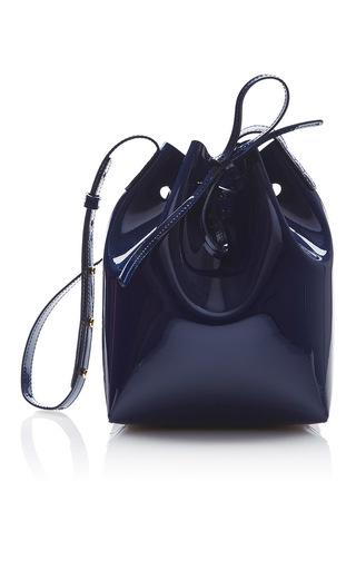 Medium mansur gavriel navy mini bucket bag  6