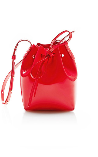 Medium mansur gavriel red mini mini
