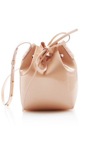 Medium mansur gavriel pink mini mini bucket bag