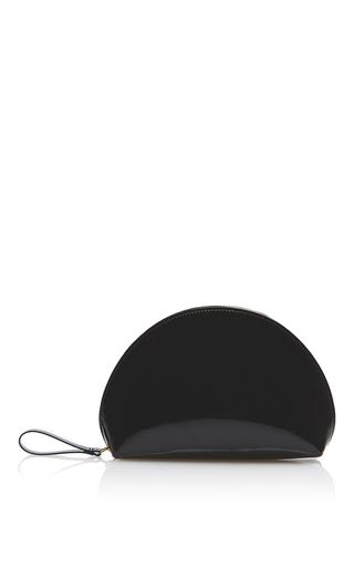 Medium mansur gavriel black mini moon clutch  2