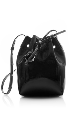 Medium mansur gavriel black mini mini  5