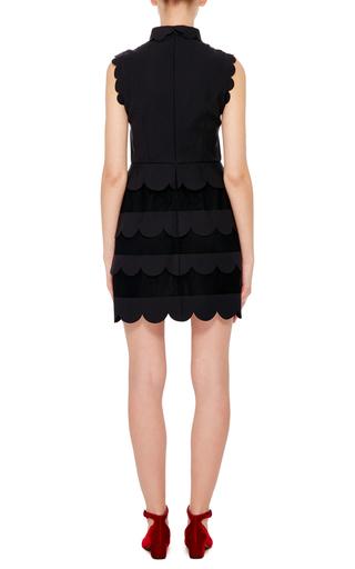 Sleeveless Scalloped Dress by RED VALENTINO Now Available on Moda Operandi