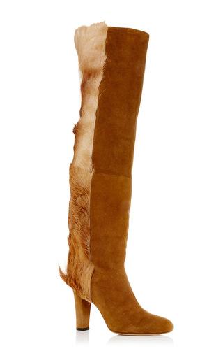 Medium brother vellies brown springbok florence boot