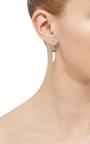 Amazonite And Black Diamond Single Earring  by ARA VARTANIAN Now Available on Moda Operandi