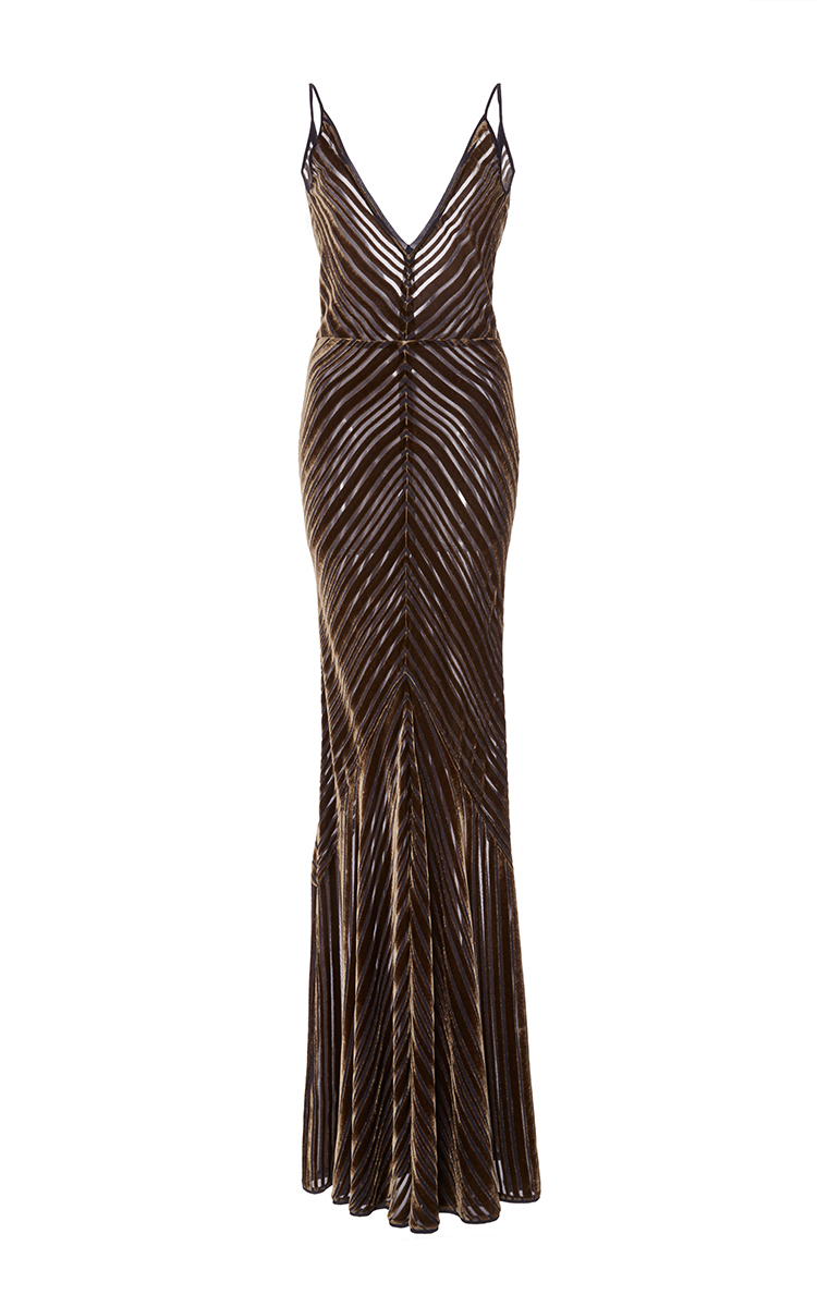 Julian Jacquard Velvet Gown by Gabriela Hearst   Moda Operandi