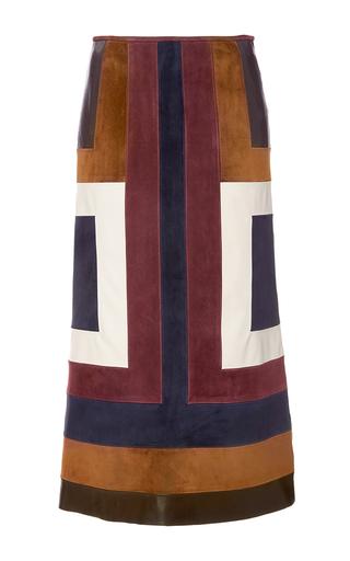 Medium gabriela hearst multi sitwell suede skirt