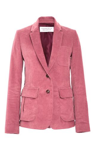Medium gabriela hearst pink louisa cotton blazer