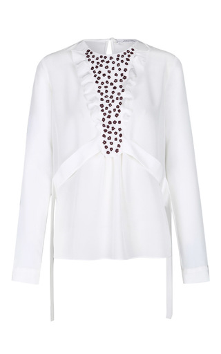 Medium dorothee schumacher white playful energy blouse