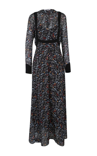 Medium dorothee schumacher floral romantic flora long dress