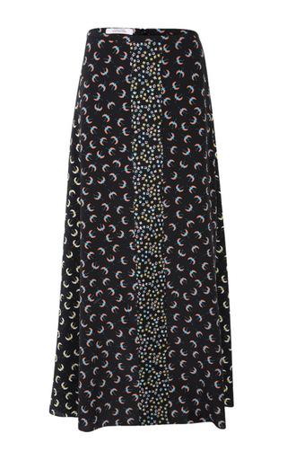 Medium dorothee schumacher print patch it up skirt