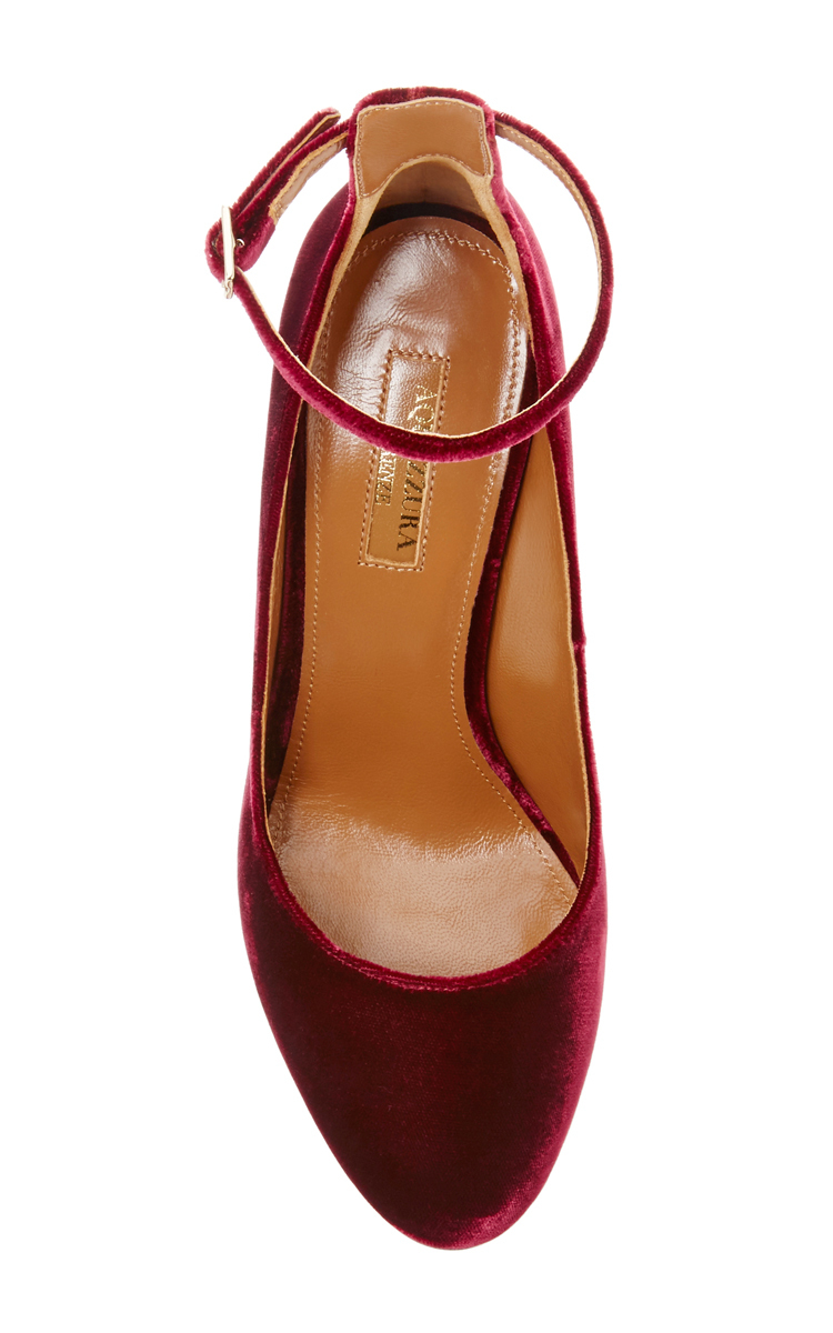 fc48b0b9f3f6 AquazzuraAlix Velvet Pumps. CLOSE. Loading. Loading. Loading