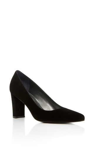 Medium stuart weitzman  2 black tessa pump