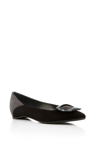 Medium stuart weitzman  2 black react flat