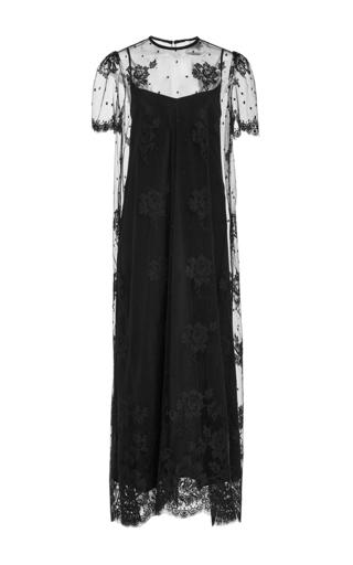 Medium houghton black frieda lace long dress