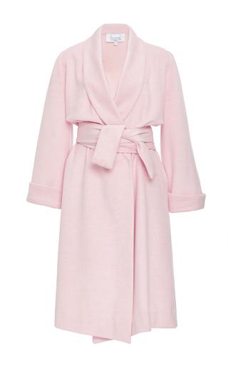Medium houghton pink arlen wool coat
