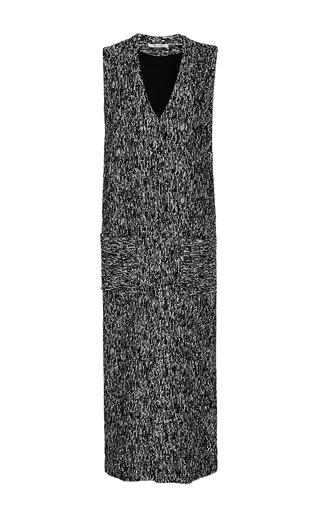 Medium hellessy dark grey pablo long gilet with pockets