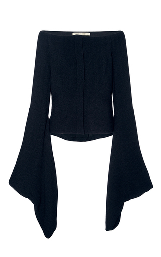 Medium hellessy black aoki kimono sleeve off the shoulder top