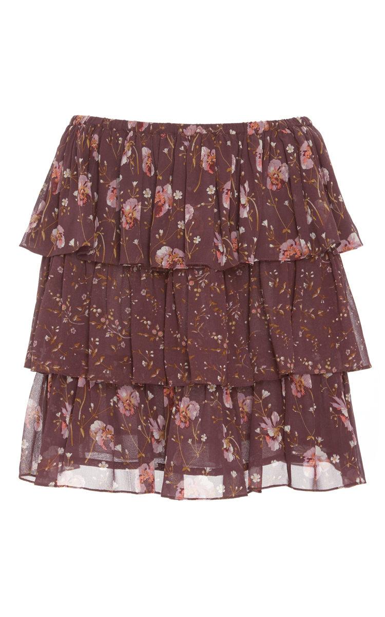 759b23b82790 Ulla JohnsonOrion Patchwork French Floral Skirt. CLOSE. Loading