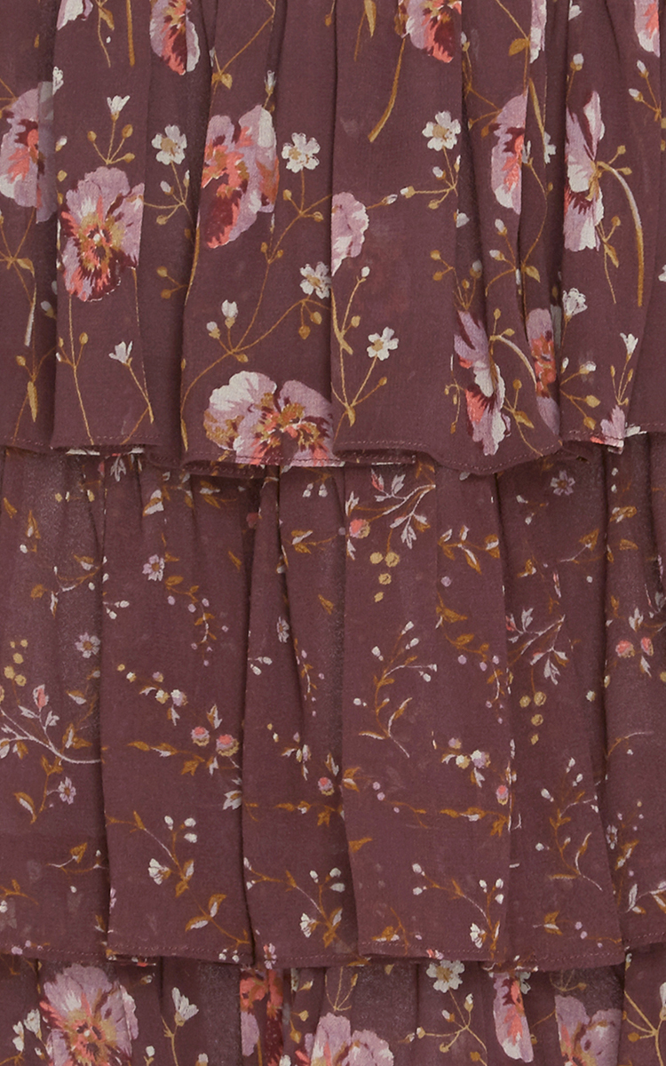 e921eeb48fca Orion Patchwork French Floral Skirt by Ulla Johnson